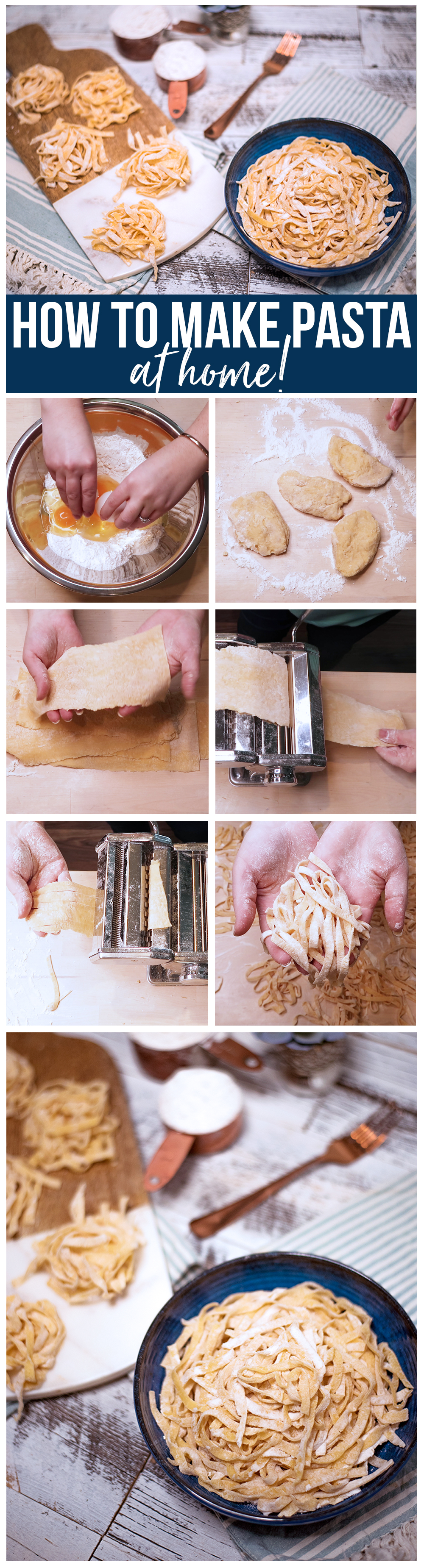 How to make pasta at home - so easy!