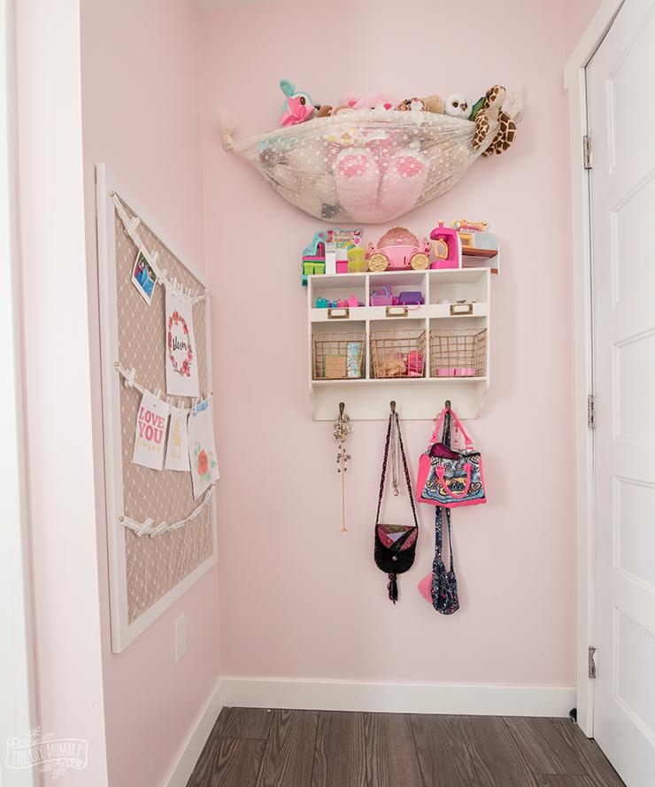 Beautiful & Practical Kids Bedroom Organization Ideas