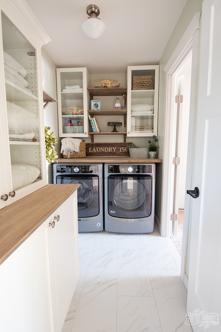 Classic Cottage Laundry Room Reveal Mom S Lake House