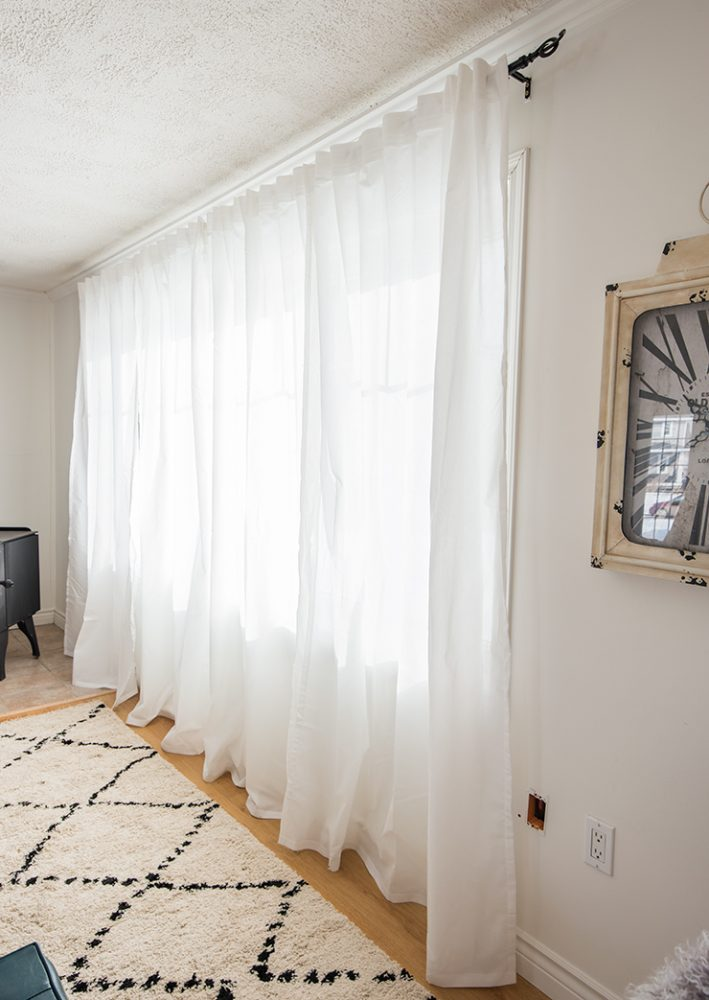How to hang and hem curtains like a pro