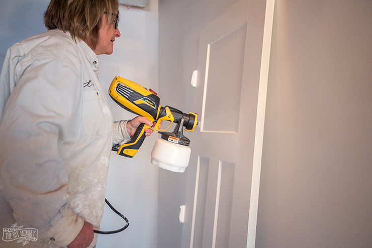 How to paint and install interior doors