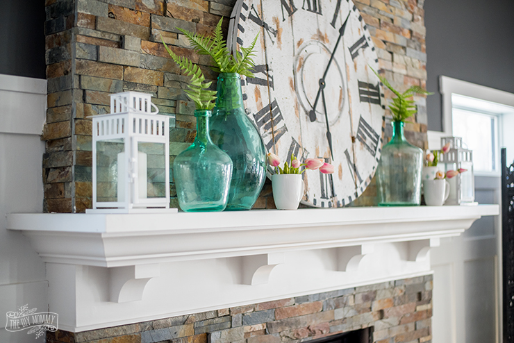 Mantel Decorating Ideas - How to Style a Mantel 2 Different ...