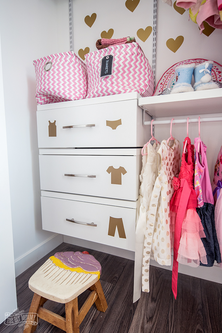Closet And Dresser Organization