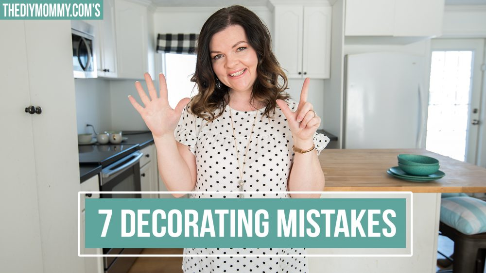 7 Decorating Tips and How to Fix Them!