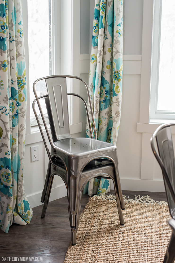 5 Reasons To Choose A Round Dining Table Our Breakfast Nook Progress The Diy Mommy