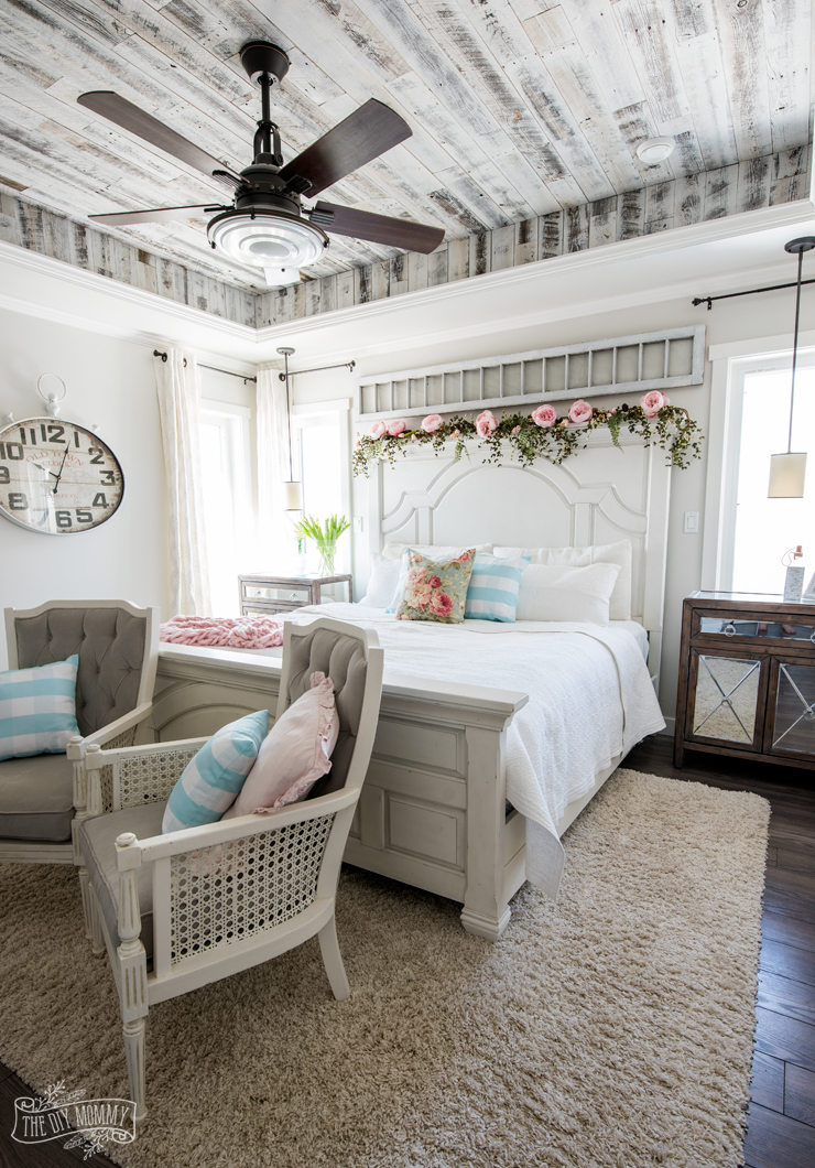 Rustic & Romantic Spring Bedroom Decor Tour
