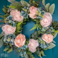 French Country DIY Floral Wreath