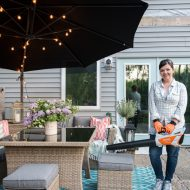 5 Tips to Get Your Patio Ready for Summer (& Our Back Patio Tour)