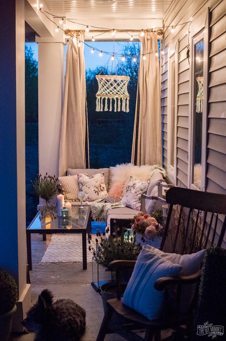 Hygge Spring & Summer Cozy Outdoor Porch Decor