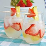 Strawberry pineapple sangria recipe for summer