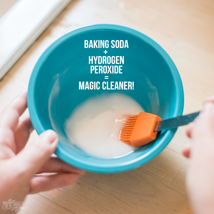 Magic Cleaner Recipe that cleans sinks, pans, you name it!