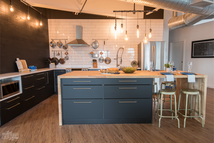 A Modern Scandi Industrial Kitchen Makeover With Samsung