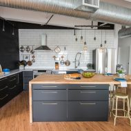 A Modern Scandi Industrial Kitchen Makeover with Samsung & The Brick