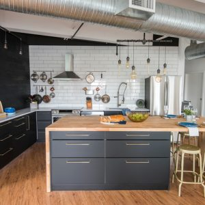 Modern Scandinavian Industrial Kitchen Design