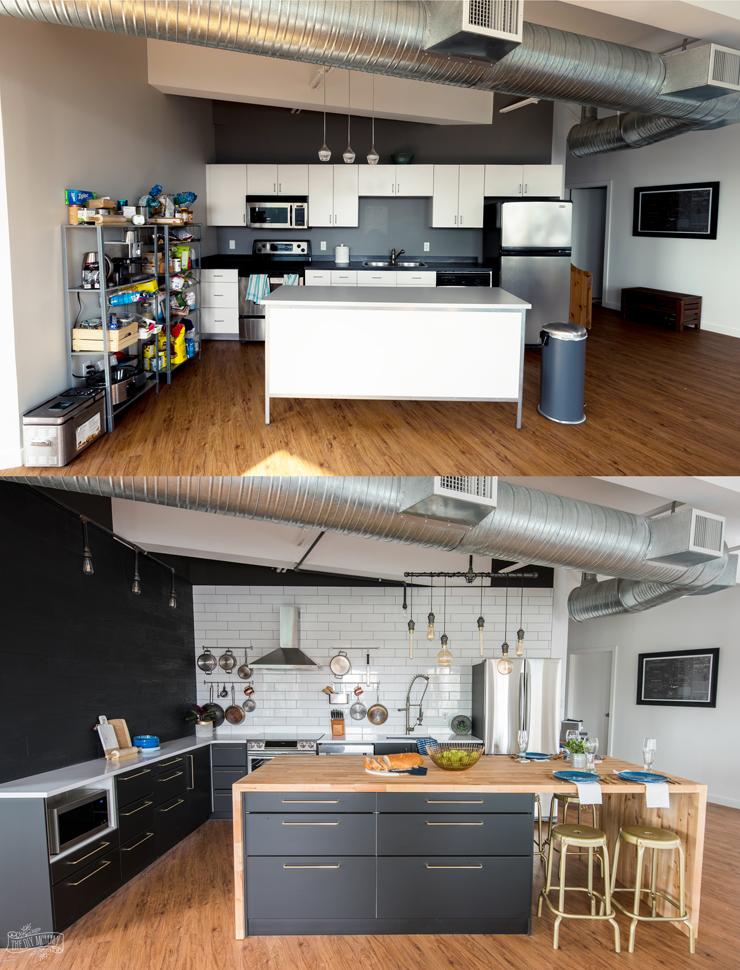 Modern Scandinavian Industrial Kitchen Design
