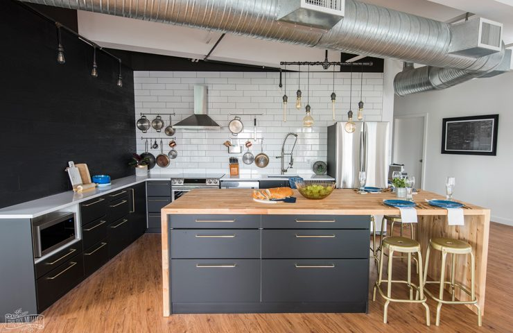 The diy mommy making things for mommy for baby and for home a modern scandi industrial kitchen makeover with samsung the brick solutioingenieria Choice Image