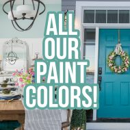 Our DIY House: Modern Farmhouse Paint Colors