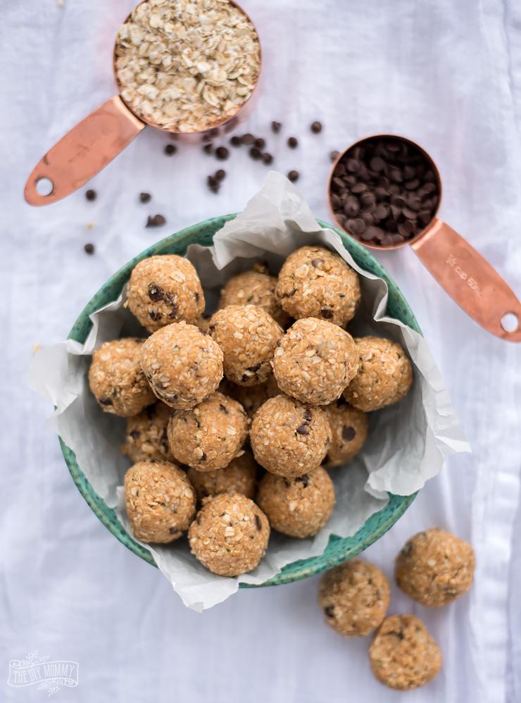 Peanut butter energy balls recipe - vegan & gluten free