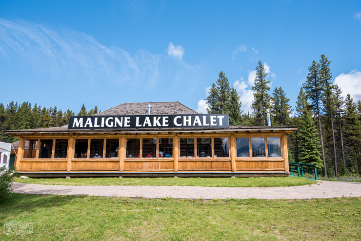Maligne Lake at Jasper