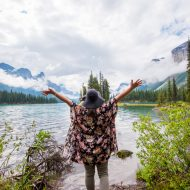 Finding Stillness at Maligne Lake, Jasper