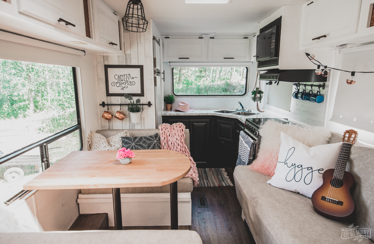 Renovated RV Tour | Our DIY Camper | The DIY Mommy