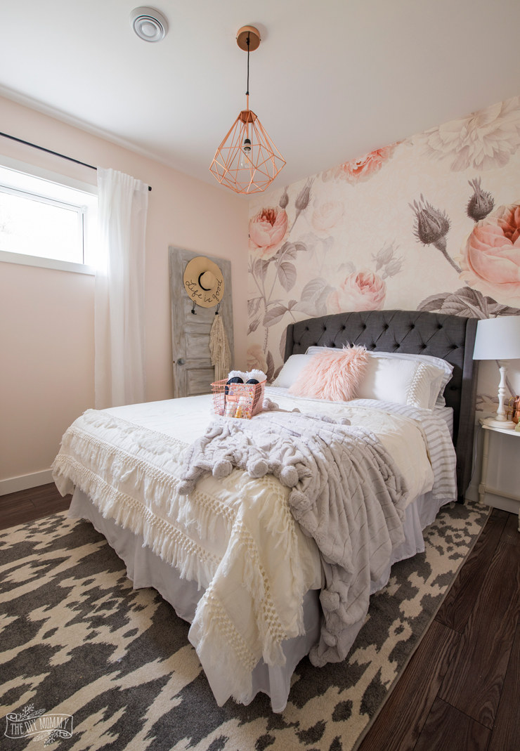 Light Pink Headboard