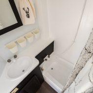 RV Bathroom Makeover on a Budget – Our DIY Camper