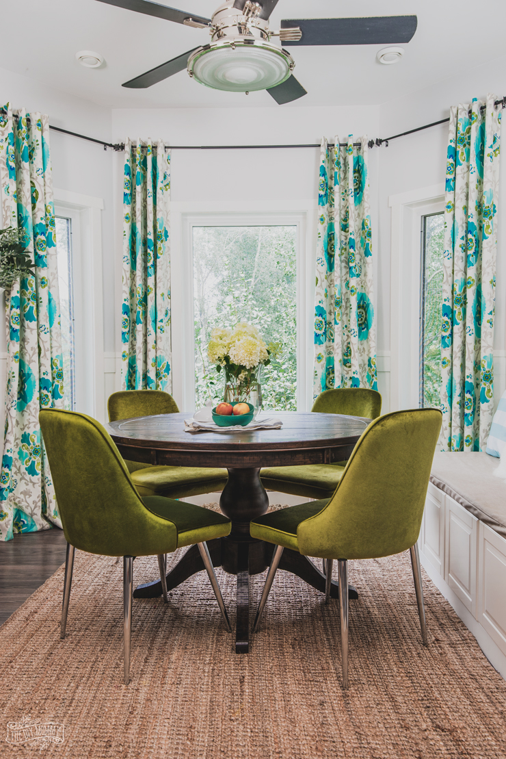 Colorful Dining Table Chairs