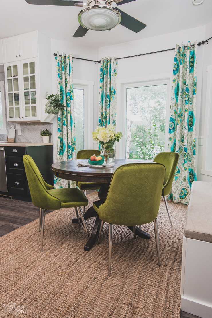 How To Mix Decor Styles Amp A Velvety Breakfast Nook Update