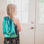 How to sew a DIY mermaid flip sequin drawstring backpack. Great beginner sewing project!