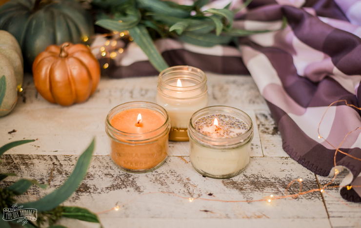 How to make beautiful scented soy candles for Fall