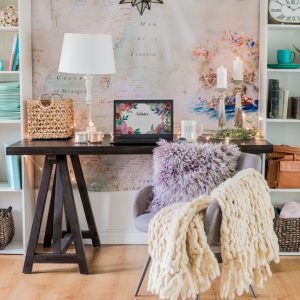 How to Style Your Home Office 3 Ways: Glam, Minimal or Cozy!