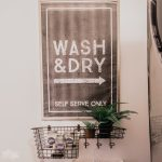 Vintage Industrial Laundry Room Sign - Free, Large Format Printable