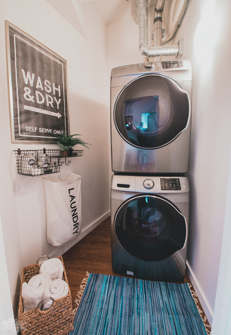 Laundry Room Makeover Modern
