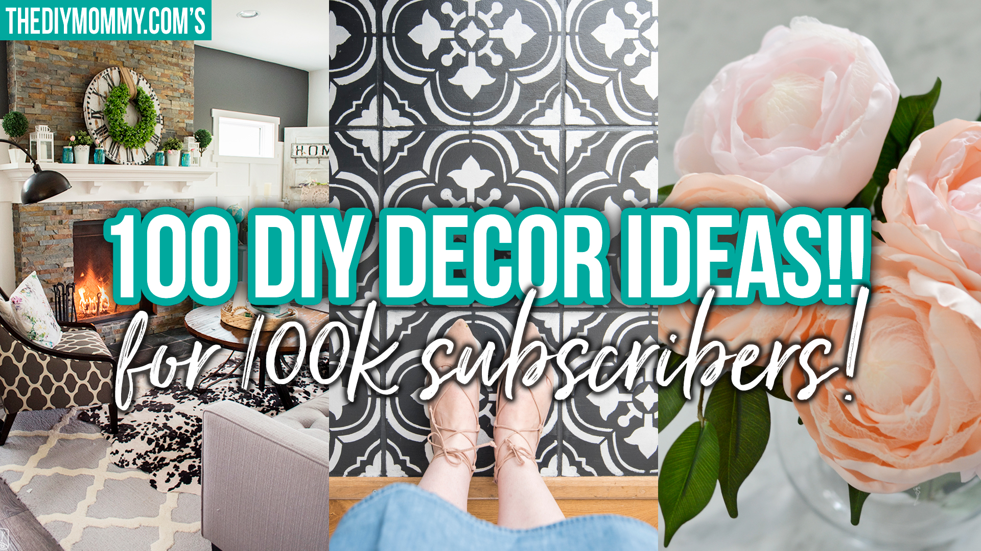 100 DIY Decor Ideas