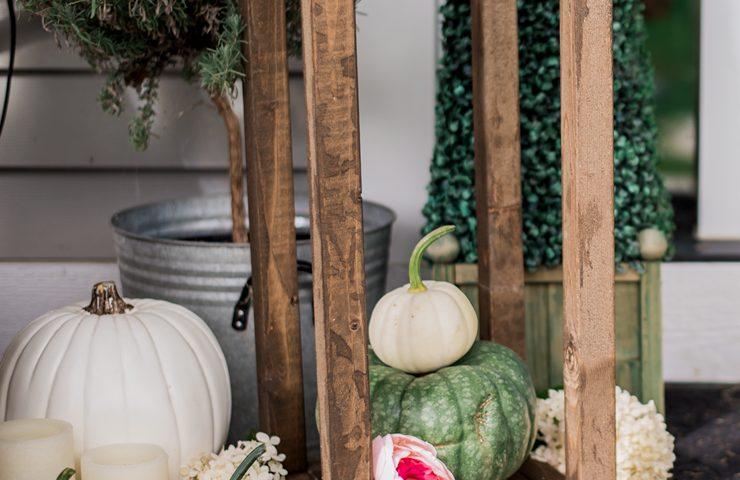 Make Wooden Lanterns for Under $10
