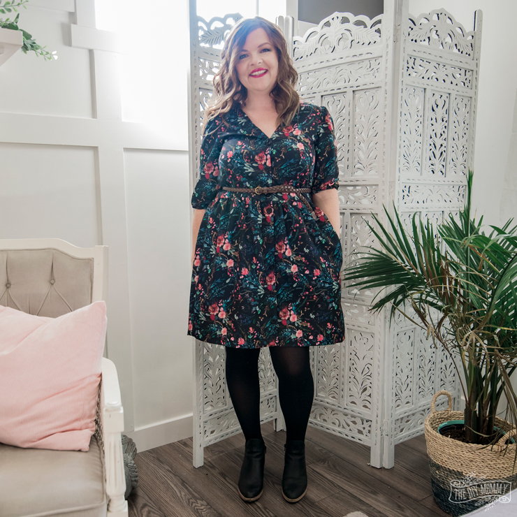 DIY Fall Dress - Darling Ranges pattern