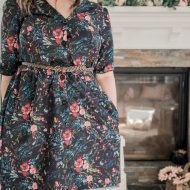 Sew a Floral Fall Dress