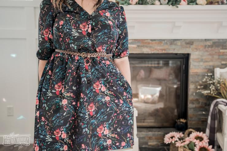 DIY Fall Dress - Darling Ranges pattern