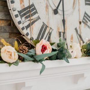 Easy, Romantic Fall Mantel Decor Ideas
