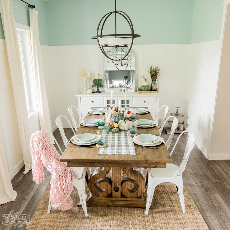 Fall Decorating Ideas For The Dining Room: 2018 Fall Home Tour