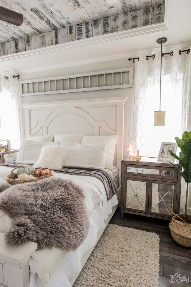 Modern French Country Hygge Master Bedroom Tour