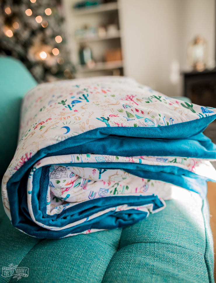 DIY Duvet Cover Tutorial