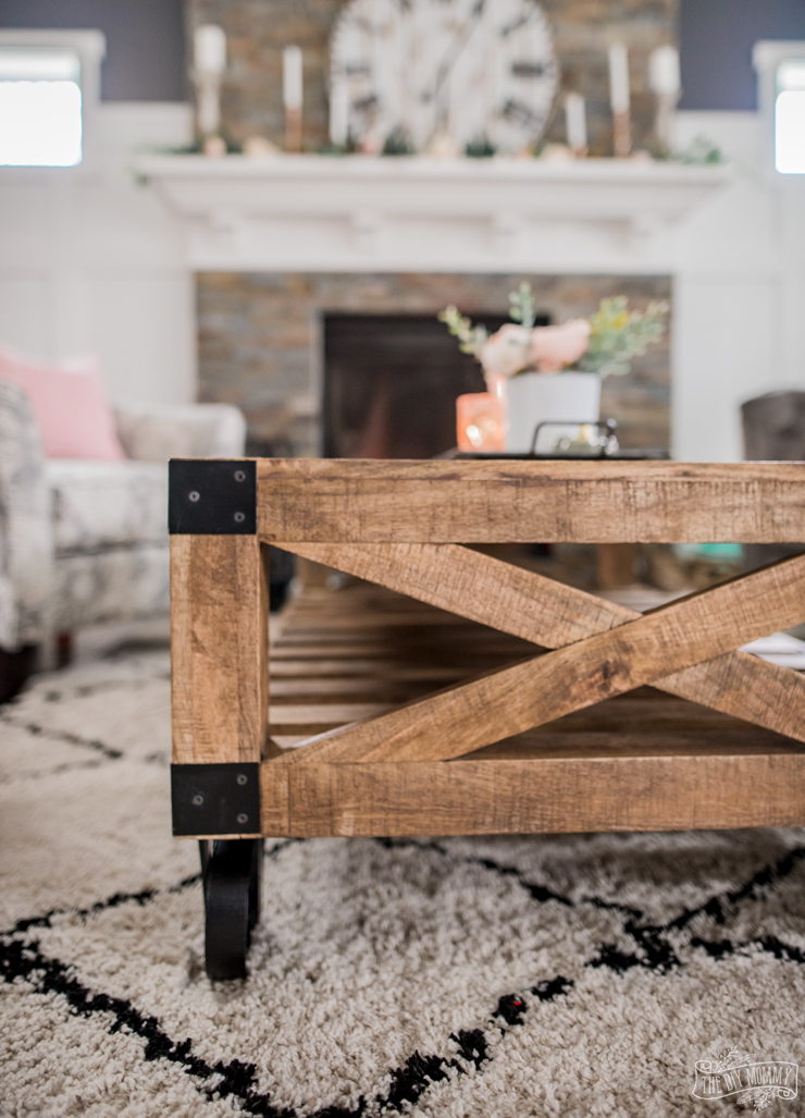 A Cozy Rustic Glam Living Room Makeover For Fall The Diy