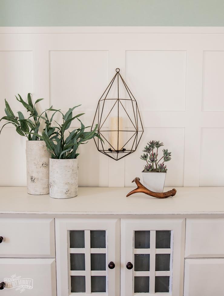 Scandi style home decor accessories