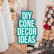 3 Easy DIY Cone Decor Ideas for Christmas