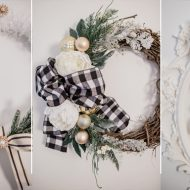 3 Glam DIY Christmas Wreath Ideas
