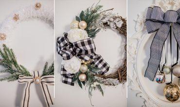 Glam DIY Christmas Wreath Ideas