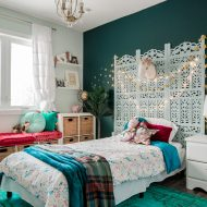 Rich & Magical Boho Kids Bedroom Makeover
