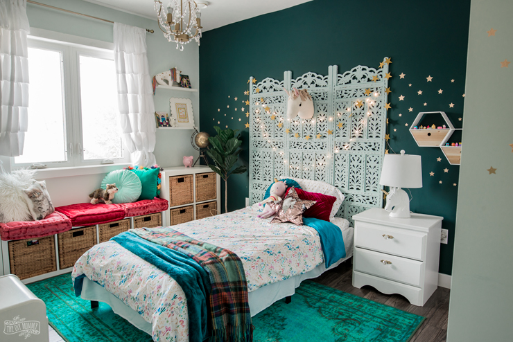 astounding rich girls bedroom rooms | Rich & Magical Boho Kids Bedroom Makeover | The DIY Mommy